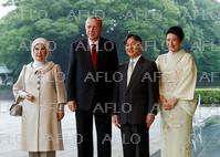 トルコ大統領が来日 天皇皇后両陛下と面会