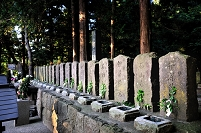 福島県 白虎隊十九士の墓