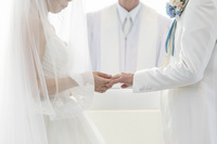 結婚式の結婚指輪の交換