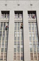 南アフリカ共和国 窓拭き