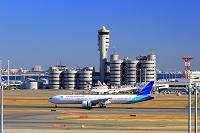東京都 羽田空港 ガルーダインドネシア航空ボーイング777