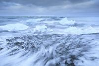 アイスランド 海と氷