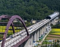 山梨県 リニア中央新幹線 試運転
