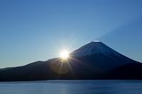 山梨県 富士山 朝日