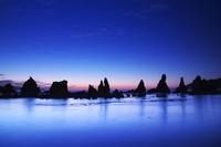 和歌山県 橋杭岩の朝