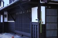 京都府 西陣 町家の正月飾り