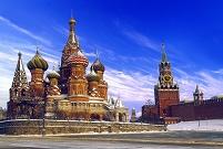 モスクワのクレムリンと赤の広場