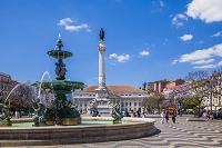 ポルトガル リスボン ロッシオ広場