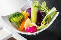 バーニャカウダの生野菜