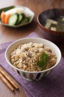 しじみの炊込みご飯 和食