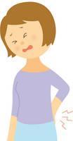 腰痛-若い女性