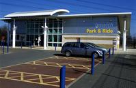 イギリス パークアンドライド 駐車場
