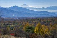 山梨県 美し森より富士山