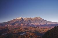 長野県 朝の御嶽山