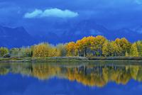 アメリカ合衆国 グランド・ティトン国立公園 オックスボーベンド