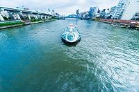 隅田川 水上バス「ホタルナ」