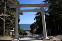 茨城県 大洗 磯前神社 太平洋