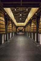 フランス シャトー・ムートン・ロスチャイルドのワイン樽
