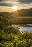 長野県 八島湿原と日の出