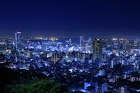 兵庫県 ビーナスブリッジから神戸の夜景
