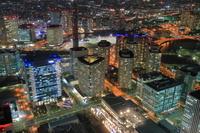 神奈川県 タワーマンションの夜
