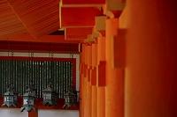 奈良県 春日大社 南回廊と東回廊の万燈籠