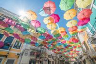 ポルトガル アゲダの傘祭り