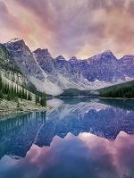 カナダ モレーン湖