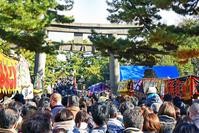 大阪府 大阪市 住吉大社 初詣の風景