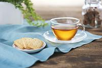 紅茶とビスケット