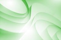 グリーンの曲線イメージ CG
