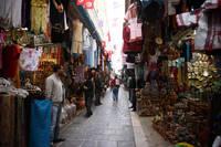 チュニジア チュニスのメディナ
