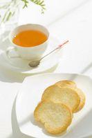 紅茶とラスク
