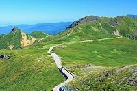 岐阜県 大黒岳から朝の乗鞍スカイライン