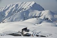 富山県 立山室堂雪景