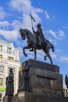 聖ヴァ-ツラフの騎馬像