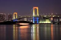 東京都 お台場 レインボーブリッジ