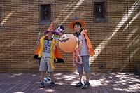 ハロウィン仮装の子供達