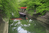 岐阜県 水門川
