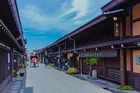 岐阜県 高山の古い街並み 上三之町