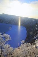 北海道 摩周湖のサンピラー