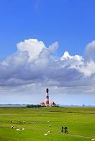 ドイツ ヴェスターヘーヴァー 灯台