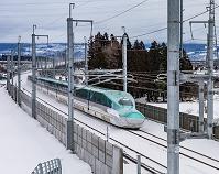 北海道 冬の北海道新幹線