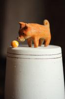 柴犬の置物
