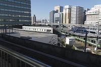 神奈川県 新横浜駅から見た横浜線