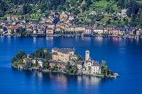 イタリア オルタ湖 サン・ジューリオ島