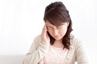 頭痛の日本人女性