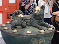 東京都 水天宮の子宝犬