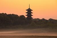 岡山県 備中国分寺五重塔