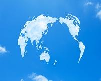 空と雲世界